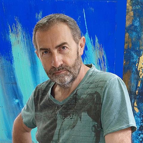 Eric Robin artiste peintre plasticien
