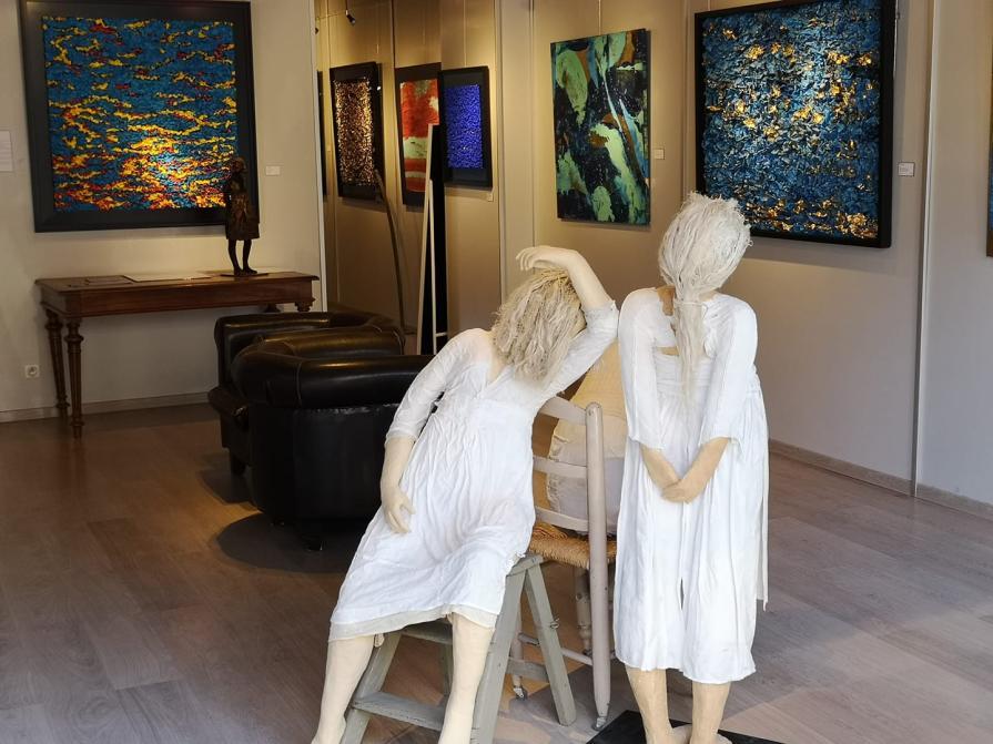 Exposition d'art contemporain